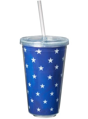 Sparkle & Shine Bright Fireworks Double Wall Tumbler