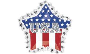 Giant Patriotic USA Star Balloon