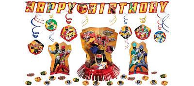 Power Rangers Decoration Kit