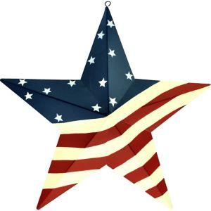 American Flag Star - Rustic Americana