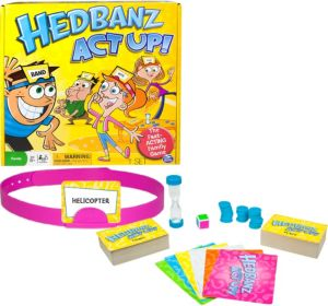 Hedbanz Act Up Game
