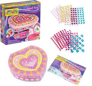 Heart Box Craft Kit 500pc
