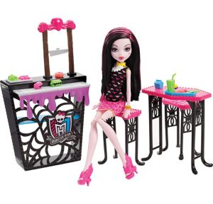 Draculaura Doll & Beast Bites Cafe Playset - Monster High