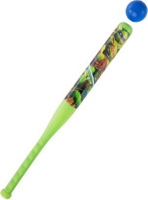 Teenage Mutant Ninja Turtles Toy Baseball Bat Set 2pc