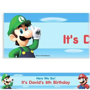 Custom Super Mario Banner
