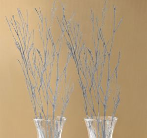 Glitter Silver Branches 4ct