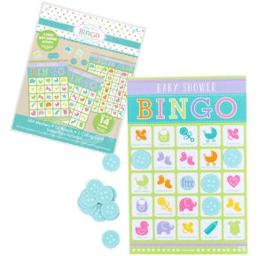 Bingo Baby Shower Game