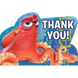 Finding Dory Thank You Notes 8ct
