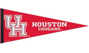 Houston Cougars Pennant Flag