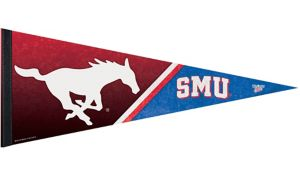 SMU Mustangs Pennant Flag