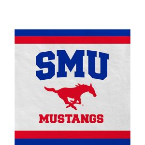 SMU Mustangs Lunch Napkins 20ct