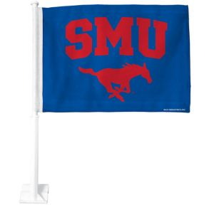 SMU Mustangs Car Flag