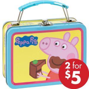 Mini Peppa Pig Tin Box