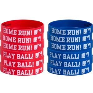 MLB Baseball Wristbands 12ct