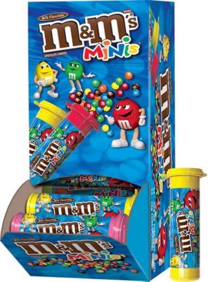 Milk Chocolate M&M's MINIS Tubes 24ct
