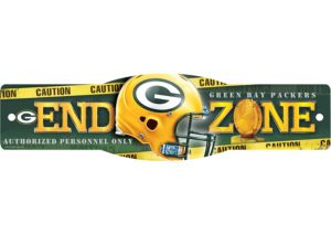Green Bay Packers End Zone Sign