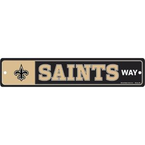 New Orleans Saints End Zone Sign