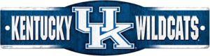 Kentucky Wildcats Street Sign