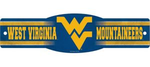 West Virginia Mountaineers Street Sign