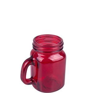 Apple Red Mason Jar Shot Glass