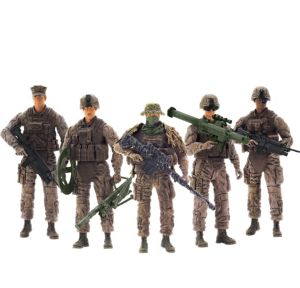 Elite Force Marine Force Recon Action Figure Playset 15pc