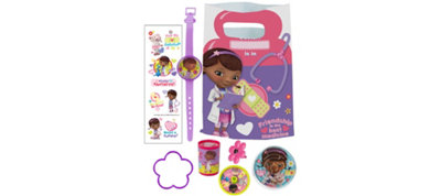Doc McStuffins Basic Favor Kit