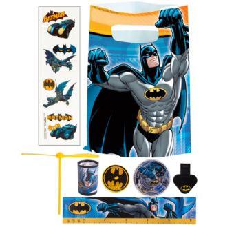 Batman Basic Favor Kit for 8 Guests