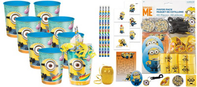Despicable Me Super Favor Kit for 8 Guests