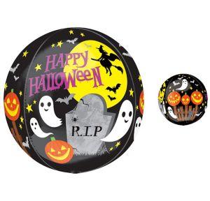 Halloween Balloon - Orbz Spooky Scene
