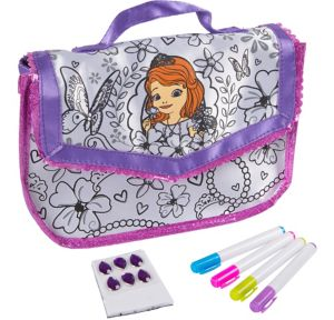 Sofia the First Color N' Style Purse Activity Kit 11pc