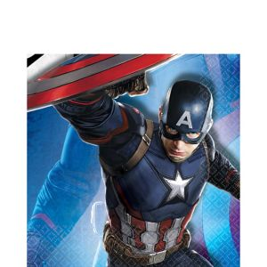Captain America: Civil War Lunch Napkins 16ct