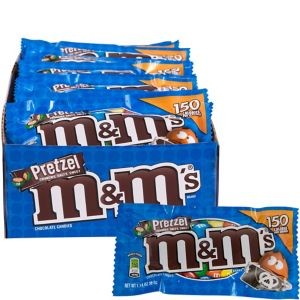 Milk Chocolate Pretzel M&M's Pouches 24ct