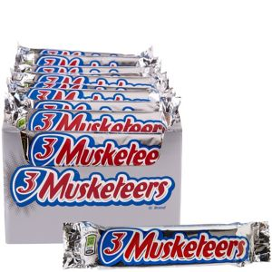 Milk Chocolate 3 Musketeers Bars 36ct