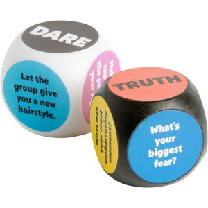 Truth or Dare Dice 2ct