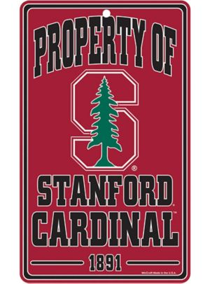 Property of Stanford Cardinal Sign