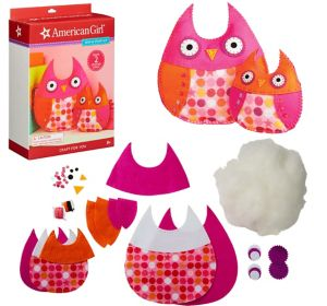 American Girl Sew & Stuff Owl Craft Kit 51pc