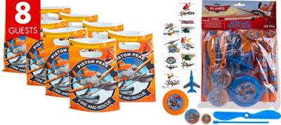 Planes Basic Favor Kit for 8 Guests