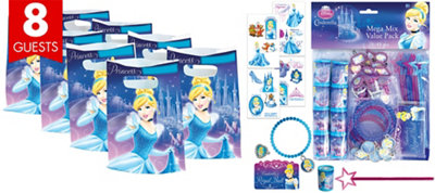 Cinderella Basic Favor Kit for 8 Guests