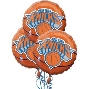 New York Knicks Balloons 18in 3ct