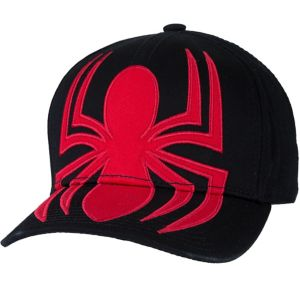Black Spider-Man Baseball Hat
