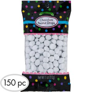 White Peanut Chocolate Drops 150pc