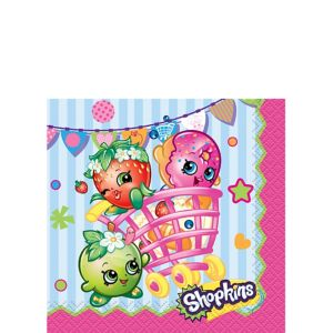 Shopkins Beverage Napkins 16ct
