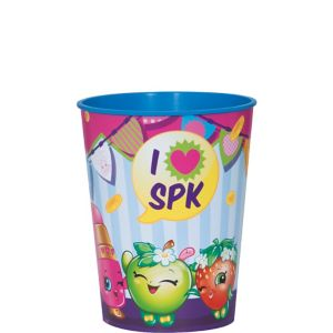 Blue Shopkins Favor Cup