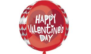 Hearts Valentine's Day Balloon - Orbz