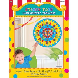 Sticky Toss Target Game