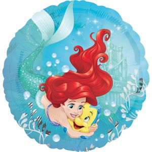 Flounder & Ariel Balloon - The Little Mermaid