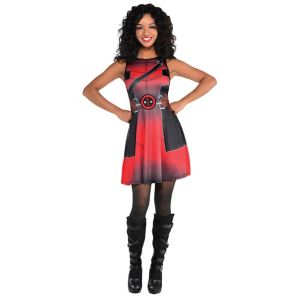 Fit & Flare Deadpool Dress