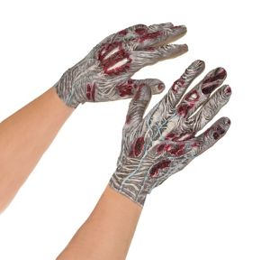 Bloody Zombie Gloves