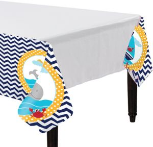 Ahoy Nautical Table Cover