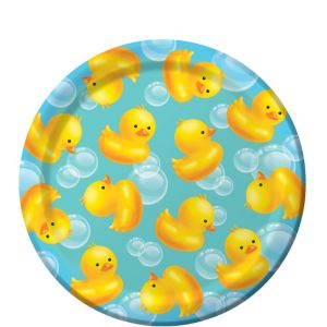 Bubble Bath Baby Shower Dessert Plates 8ct